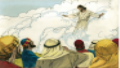 View Jesus ascends to heaven (Acts 1:4-11)